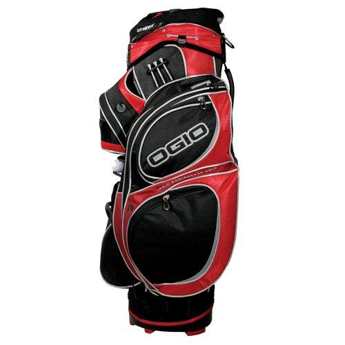 Affordable OGIO Atlas Cart Bag, Red