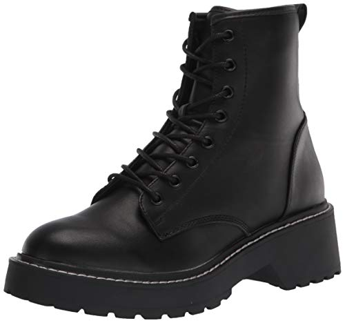 Madden Girl Women's Carra Fashion Boot, Black Paris, 10