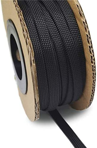 100ft-30m Black 4 Under blast sales 6 8 10 12 Expandable 14 16mm Sleev Braided Free Shipping Cheap Bargain Gift PET