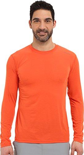 Brooks Herren Laufshirt Langarm Shirt Distance Long Sleeve Orange - 210845-890 (M)