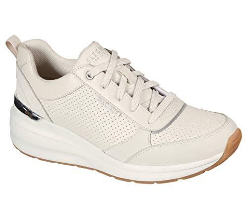 Skechers Billion Subtle Spots, Zapatillas Mujer, White, 39 EU