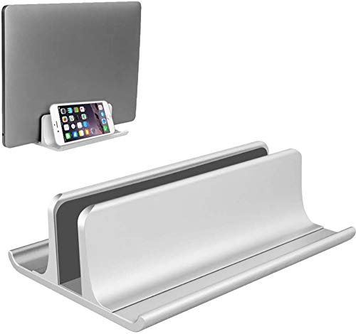 YPSMWXG Adjustable Laptop Stand Aluminum Alloy Desktop Stand, Compatible with All MacBook/Surface/HP/Dell/Lenovo/Gaming Laptops,Grey