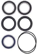 BossBearing Upgrade Rear Axle Bearings and Seals Kit for Kawasaki KFX450R 2008 2009 2010 2011