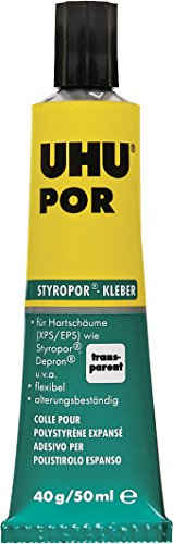 "UHU Hartschaum- / Styropor®-Kleber ""Por"" 45 900 UHU POR TUBE 40 GR 45900-702470"