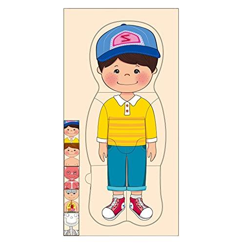 Nrkin Kinder Holzorgeln Modell Puzzle Spielzeug Vorschul-Lernspielzeug...