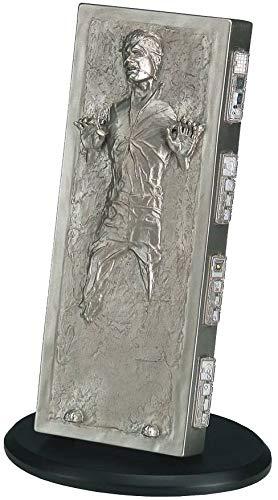 Star Wars- Figura Solo IN Carbonite, Color Standard (Attakus 3700472004274)