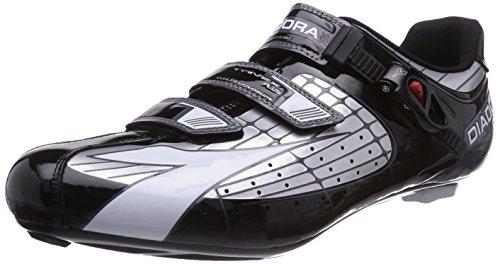 Diadora TRIVEX Plus - Calzado de Ciclismo Unisex, Argento (Silber (Silber/Schwarz/Weiß 1147)), 49