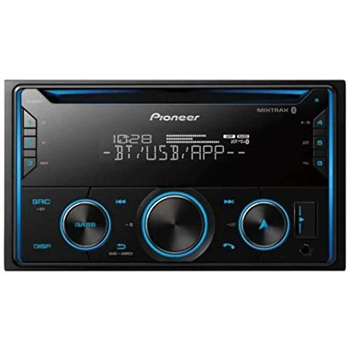 PIONEER FH-S520BT Pioneer FHS520BT Double Din Bluetooth in-Dash CD/Am/FM Car Stereo Receiver W/USB, Smart Sync, Amazon Alexa Compatible