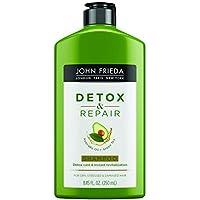 John Frieda Detox and Repair Shampoo, 8.45 Fl Oz
