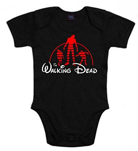 Body de NIÑOS Walking Dead Walt Disney Negan lusi Bate Zombie Caminante Rick 3Meses