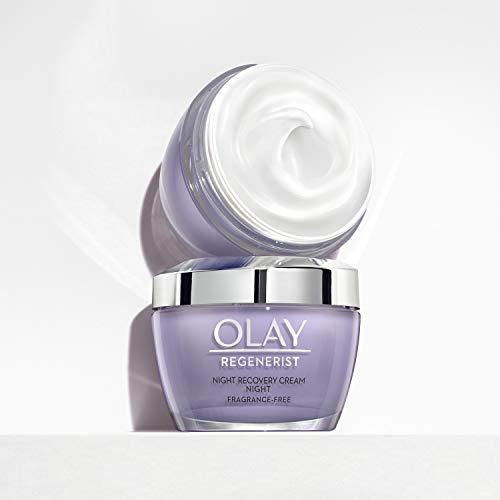 Night Cream by Olay Regenerist Night Recovery Cream & Face Moisturizer, 1.7 Ounce