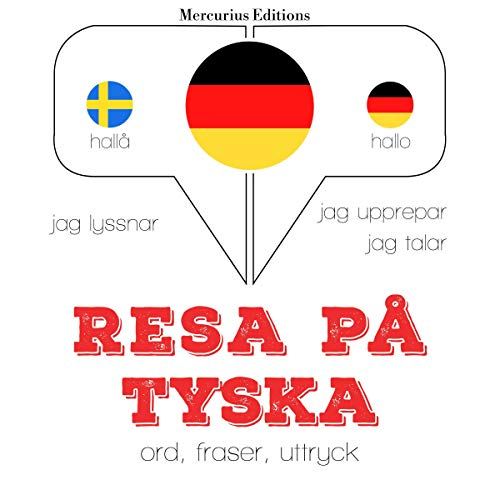 Resa på tyska cover art