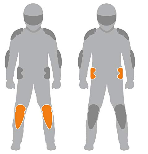 Rukka D3O Air Protektoren Set für Hosen