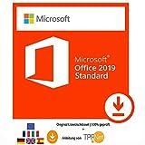 MS Office 2019 Standard 32 bit & 64 bit Vollversion Original Lizenzschlüssel per Post und E-Mail + Anleitung von TPFNet® - Versand maximal 60Min