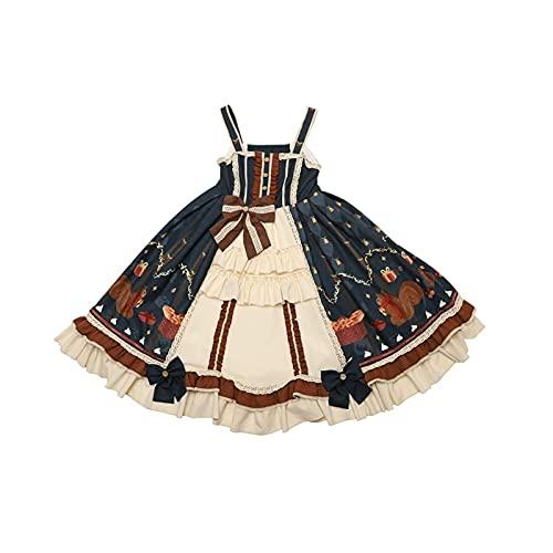 BFBMY Vestido para adulto de Nekopara para cosplay de anime, de carreras, para nia, gato, sirviente de Lolita, vestido de vainilla y chuleta, disfraz de cosplay (color: vainilla, tamao: pequeo)