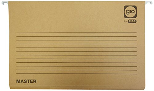 Elba Master 400047715 - Caja de 25 carpetas colgantes para cajón, Fº