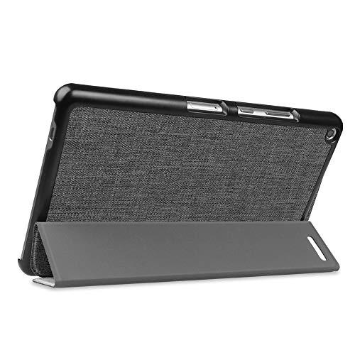 Fintie Huawei Mediapad T3 8 Hülle Case - Ultra Dünn Superleicht SlimShell Ständer Cover Schutzhülle Tasche mit Zwei Einstellbarem Standfunktion für Huawei T3 20,3 cm (8,0 Zoll), Denim dunkelgrau - 6