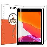 Eono Essentials Verre Trempé Compatible avec iPad Air 3 (10.5 Pouces, 2019) et iPad Pro 10.5 2017 Protection Ecran avec Kit d'installation Anti Rayures et Choc sans Bulles [Lot de 2]