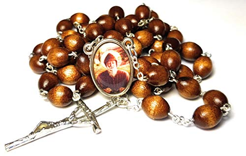 3rd class relic rosary Saint Charbel Sharbel Makhlouf Maronite monk and priest from Lebanon prayer for healing