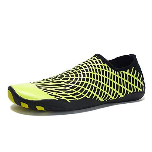 Jiuyue-shoes herfst/zomer 2018 sportschoenen, voor mannen en vrouwen, slip on-stijl, stof, katoen, elastisch materiaal, flexibel, hard, multifunctioneel