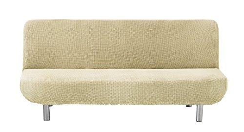 Eysa Cora bielastisch Sofa überwurf clic clac Farbe 01-beige, Polyester-Baumwolle, 36 x 27 x 14 cm