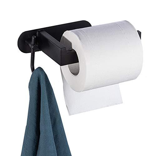 portarrollos baño sin Taladro Porta Rollos Papel higienico Taza de succión con Soporte de Rollo de Inodoro Soporte de Rollo de Inodoro 2