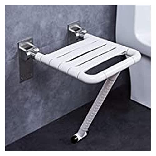 Nawxs Bagno Pieghevole Sgabello Parete Doccia Sedile Toilette Sedia da Parete di Sicurezza Anziani Sgabello da Bagno Senza Ostacoli