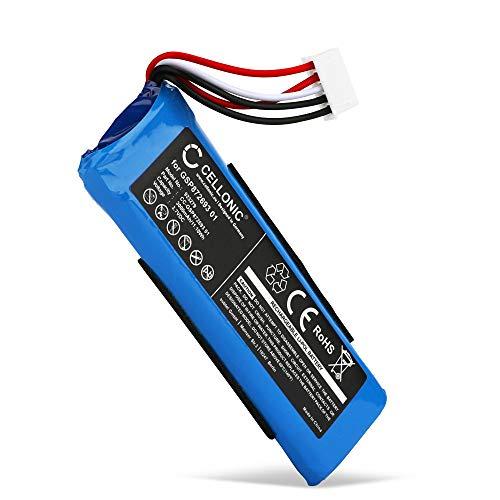 CELLONIC Batería Premium Compatible con JBL Flip 4, Flip 4 Special Edition, GSP872693 01 3000mAh Pila Repuesto bateria