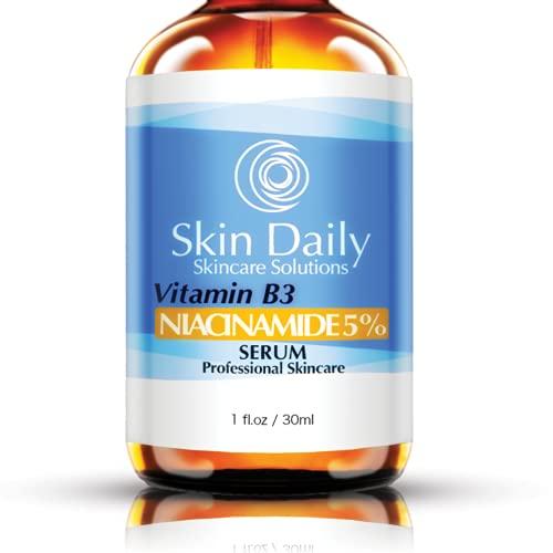 Niacinamide Serum for Face 5%- 1 Oz - Vitamin B3 Cream Visibly...