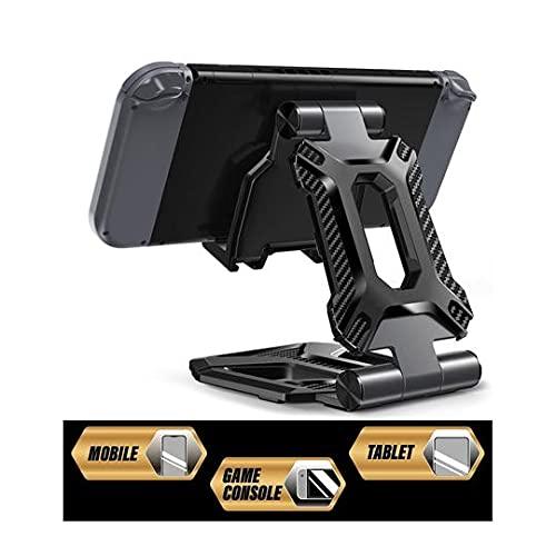 SUPCASE Tablet Ständer Verstellbar Handy Halter Nintendo Switch Halterung Tragbar iPad Stand für iPad Air Pro Mini, Galaxy Tab, Nintendo Switch, E-Reader und Allen 4 bis13 Zoll Gerät (Schwarz)