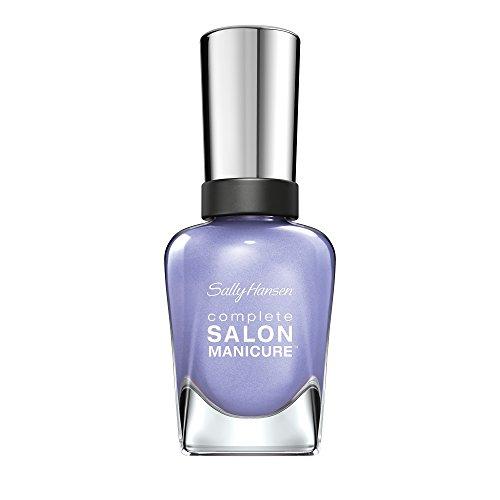 Sally Hansen Complete Salon Manicure Nagellack, Farbe 410, Hat's Off to Hue, flieder / lila, 1er Pack (1 x 15 ml)