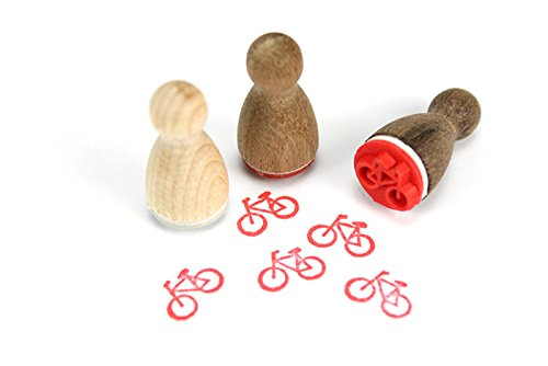 Stemplino Mini Stempel Fahrrad