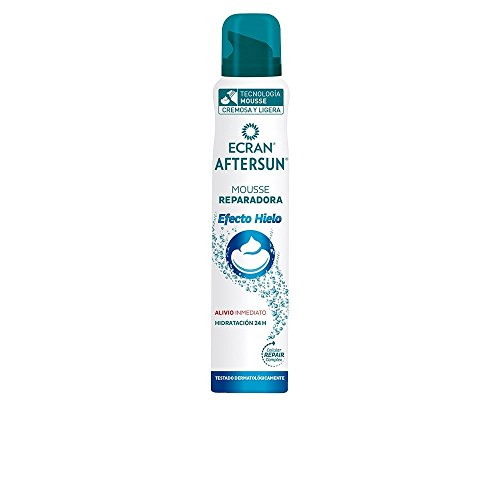 Ecran Aftersun - Mousse Reparadora, Efecto Hielo - 250 ml