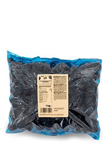 KoRo - Gefriergetrocknete Himbeeren in dunkler Schokolade 1 kg - Süßer Snack für Zwischendurch