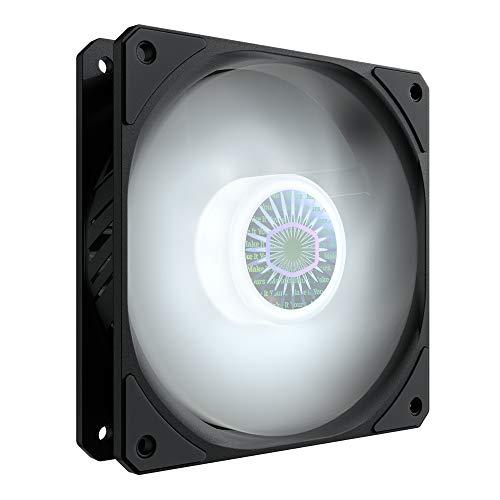 Cooler Master SickleFlow 120 V2 Case & Ventola di Raffreddamento LED Bianco - Pale Traslucide Air Balance, 62 CFM, 2,5 mm H2O, da 8 a 27 dB - LED Bianco