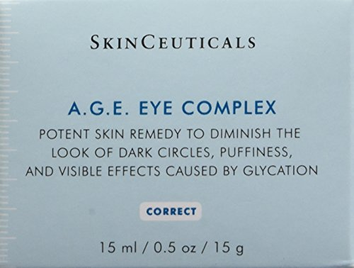 41GnUacSf5L - SkinCeuticals A.G.E. Eye Complex 0.5 oz Moisturizing Anti Aging Eye Cream with Vitamin E Helps Reduces Dark Circles, Puffiness and Crow's Feet