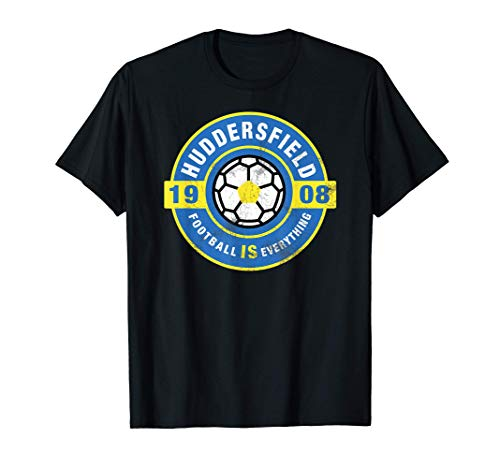 Football Is Everything - Town of Huddersfield Fan Retro T-Shirt