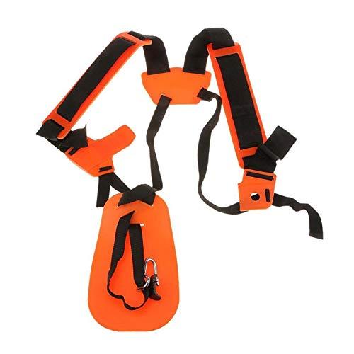 LiMePng Correa de Doble Hombro Correa Correa Duradera de Nylon para cortadores de arbustos o cortadoras de jardín para STIHL FS, KM Series Trimmers LiMePng (Color : Orange)