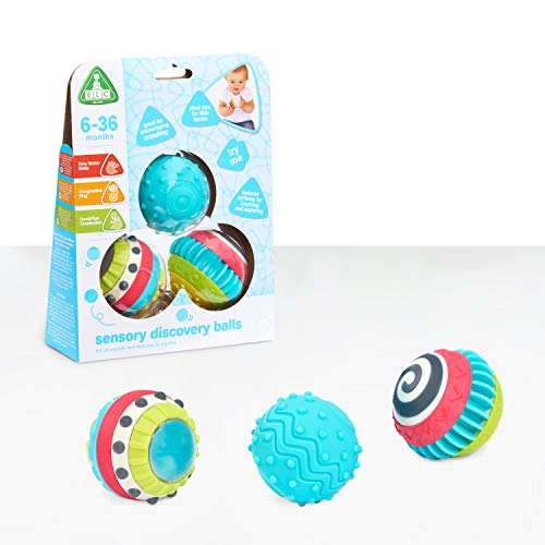 Early Learning Centre Sensory Discovery Balls, Develops Fine Motor Skills, Hand Eye Coordiation, Imaginative Play, Baby Toys 6 Months, Amazon Exclusive