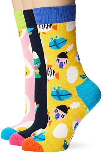 Happy Socks Damen Easter Gift Box Socken (3er Pack) 36-40 Mehrfarbig