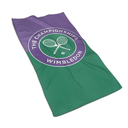 WH-CLA Toalla De Playa Wimbledon Tennis Bright Toalla De Piscina Moda para Adultos Unisex Toallas De Baño Premium Acogedor Toalla De Baño De Secado Rápido Reutilizable Suave Personalizad