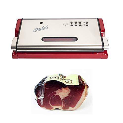 Berkel - Vacuum - Machine à vide + Salumificio Rossi Culatello di Zibello DOP, pelé, emballé sous vide (1,6-2,2 kg) - moitié