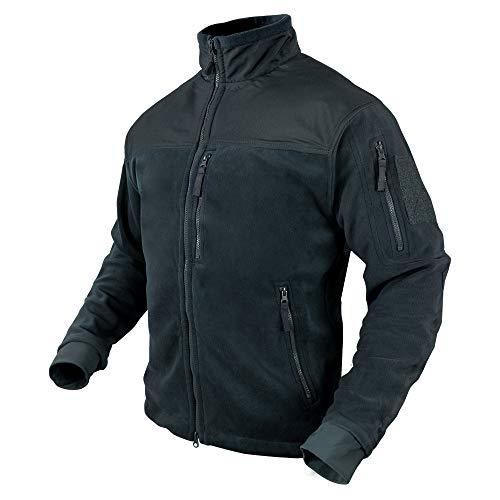 Condor Alpha Micro Fleece Jacket (Navy Blue, Large)
