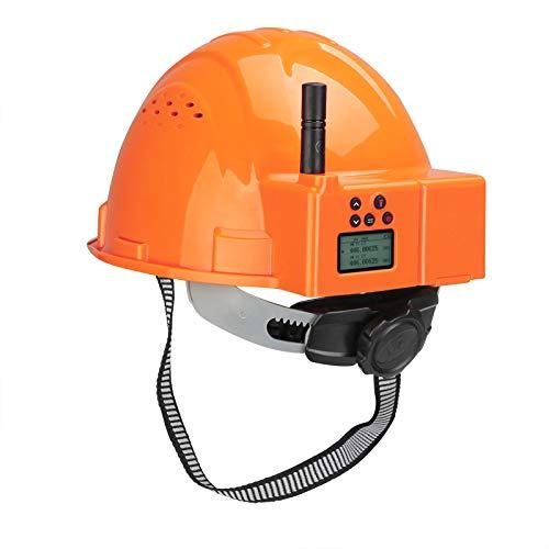 Retevis RA616 Walkie Talkie Casco, PMR446 Licencia Libre, Linterna LED Doble, Casco...