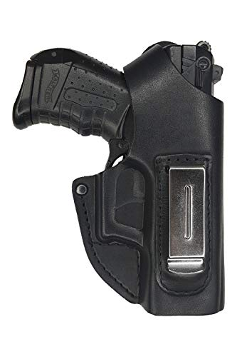 VlaMiTex IWB 2-2 Funda de Pistola para cinturón, de Piel, para Walther P22
