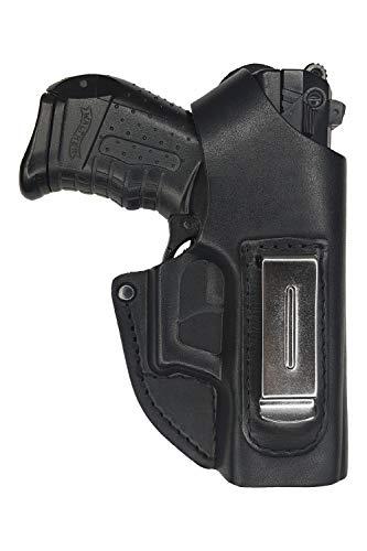 VlaMiTex IWB 2-2 Leder Holster für Walther P22 Verdeckte / Versteckte Trageweise