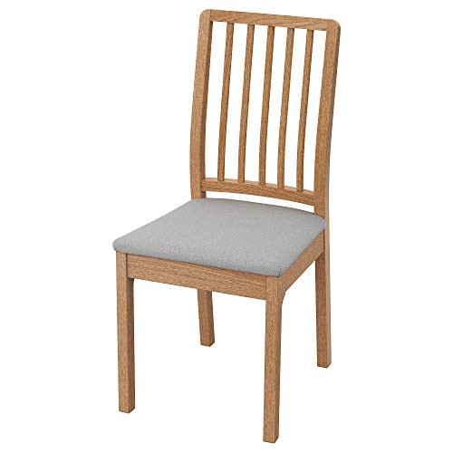 EKEDALEN Stuhl 45x51x95cm Eiche Orrsta hellgrau