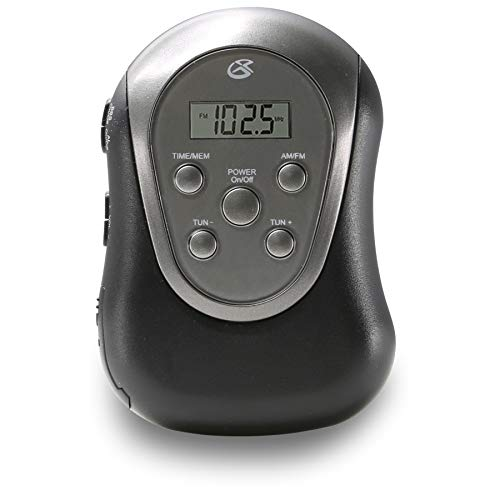 GPX R300S Am/FM Armband Radio with Earbuds,Black