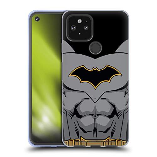 Head Case Designs Oficial Batman DC Comics Disfraz de Renacimiento Logotipos Carcasa de Gel de Silicona Compatible con Google Pixel 5