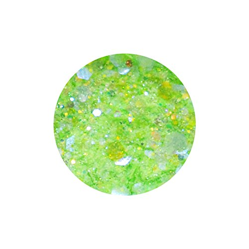 irogel イロジェル 超微粒子マジカルグリッター + ホログラム 【ライトグリーンMIX】
